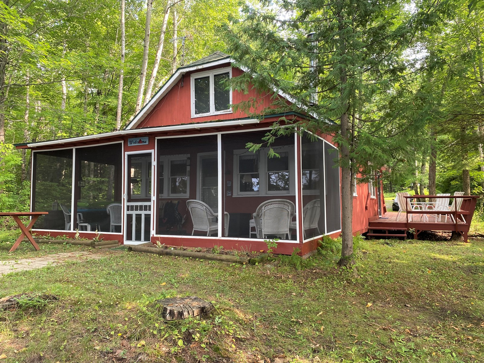MN Lake Cabin for Sale on Hanging Horn Lake, Minnesota