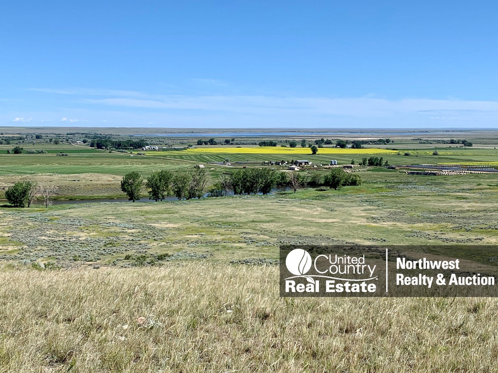 MT Ranch Grazing Irrigated Feedlot Outbuildings Deer Hunting
