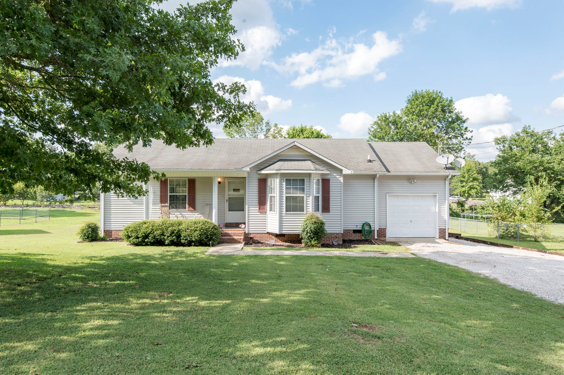 Ranch Style Home in Town for Sale in Lewisburg, Tennessee