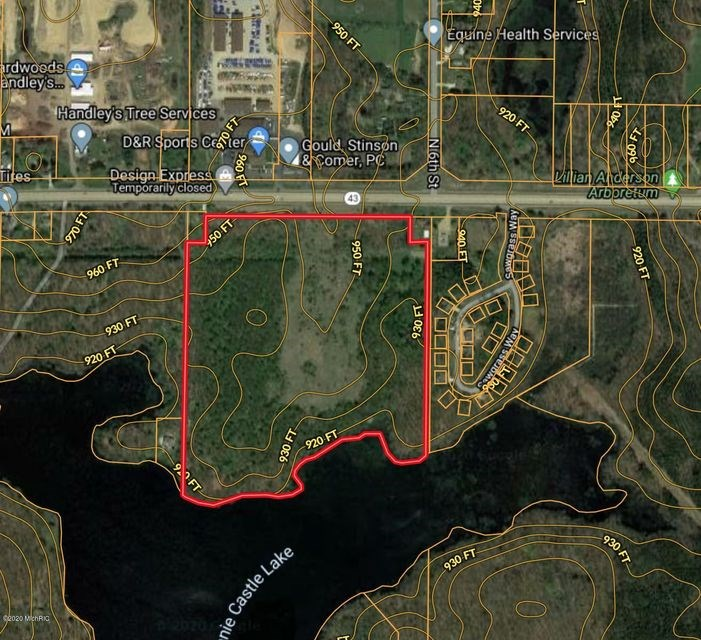 40+ acres available with prime road frontage in Kalamazoo