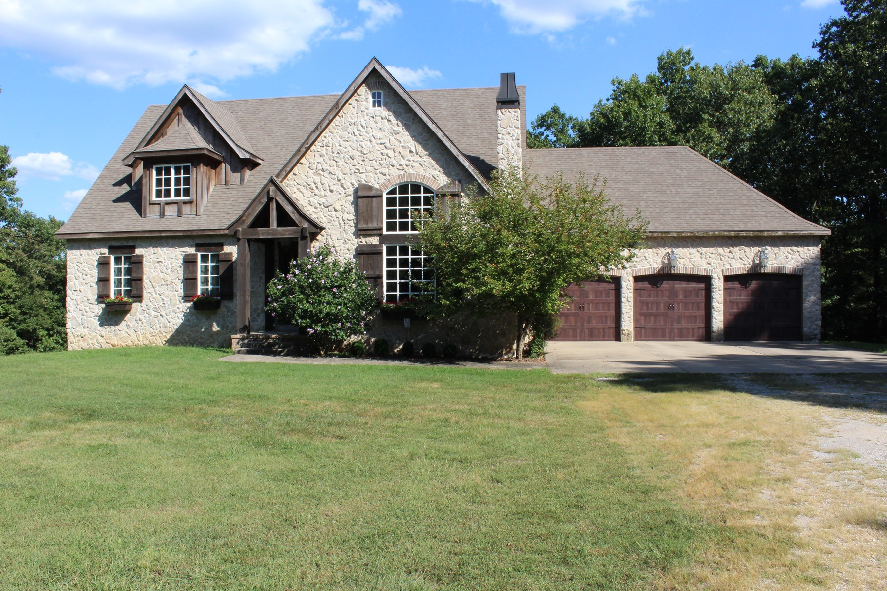 Beautiful Home located on a peaceful wooded 10 acres.