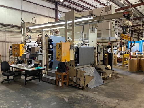 Operational Adhesive & Tape Manufacturing Equipment For Sale