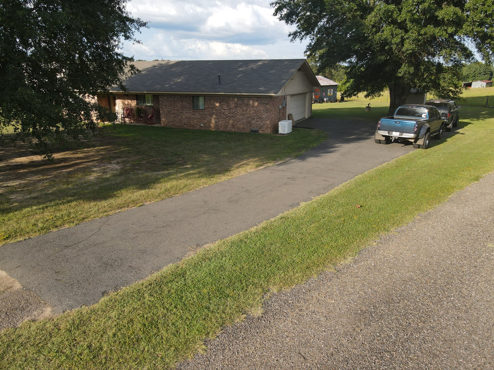 East Texas Country Home with 6.7 acres in Cass County