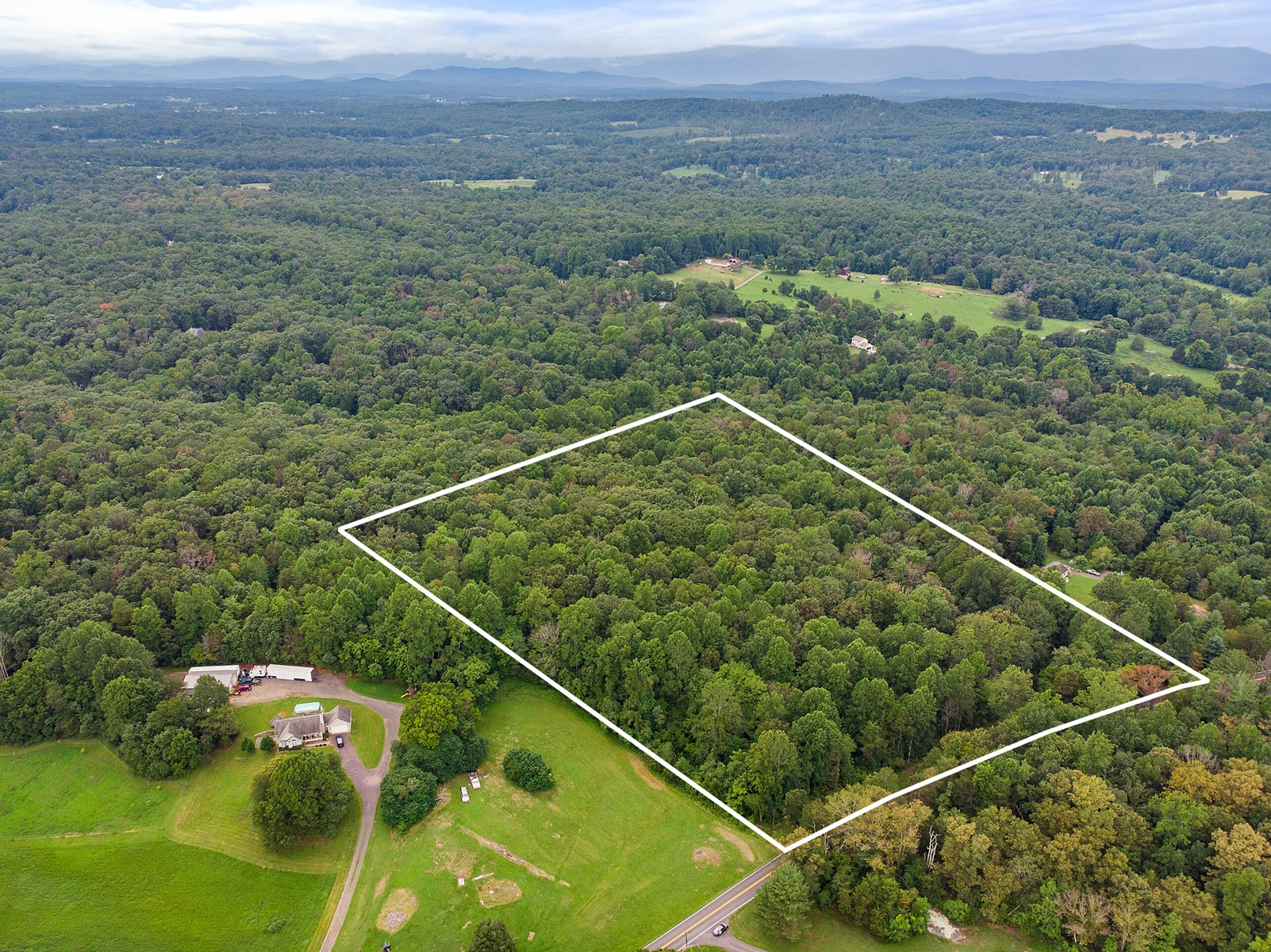 Land for Country Home for Sale in Culpeper  Co VA