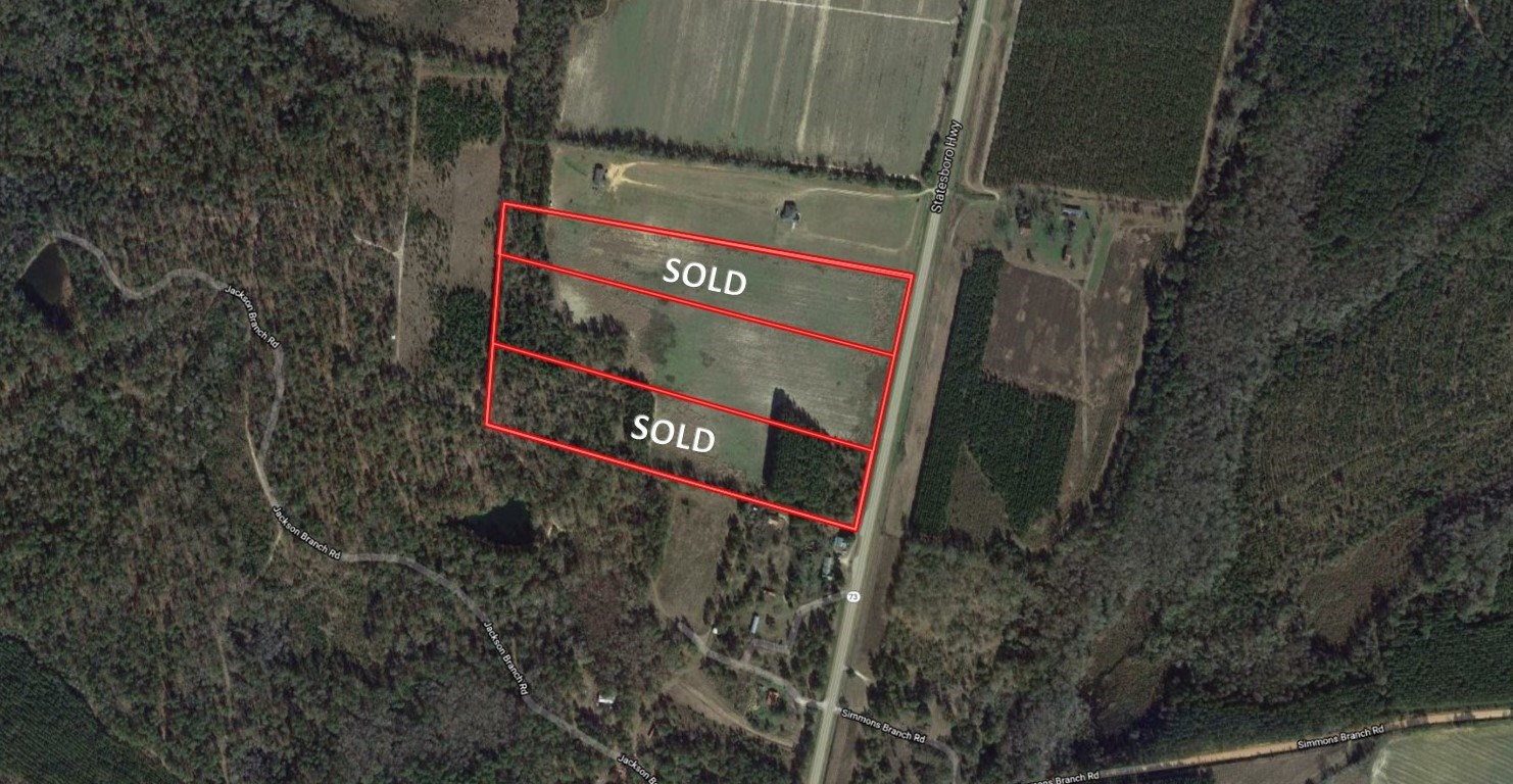 10+/- Acres for Sale in Screven County