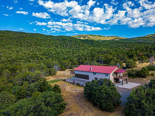 Recreational Ranch With Lodge Bordering National Forest CO