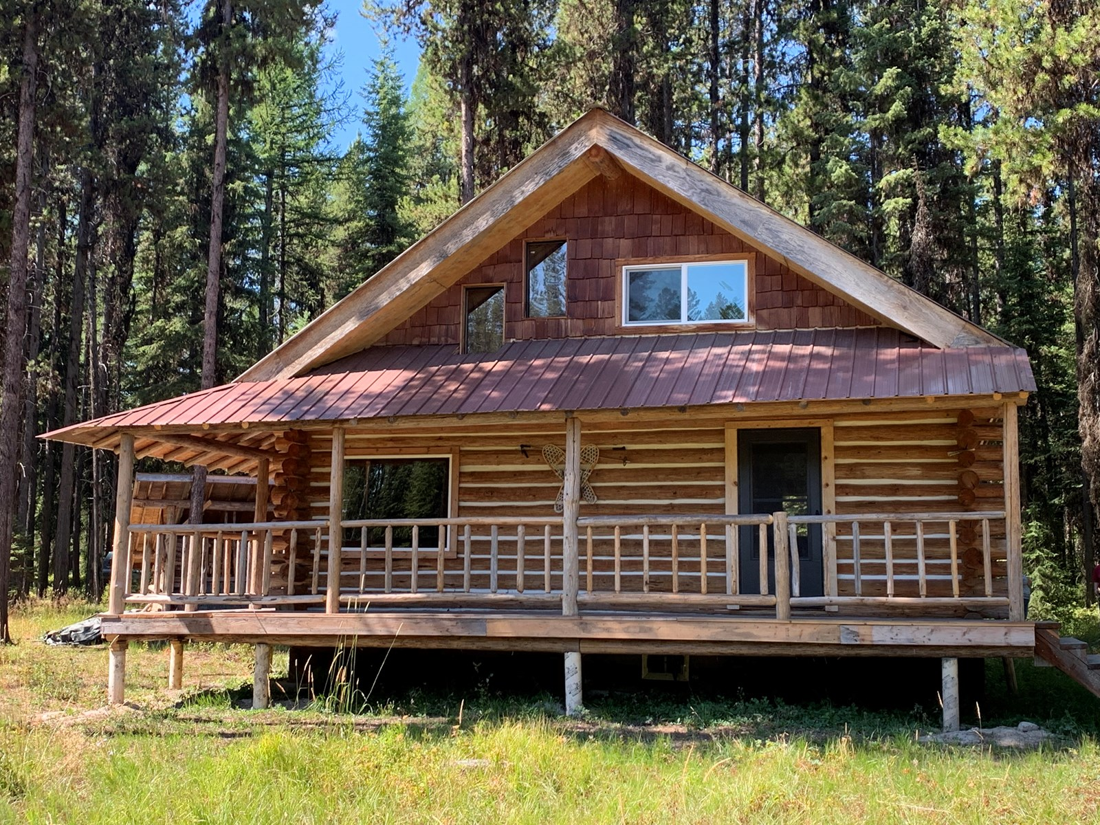 HUNTING CAMP BORDER NATIONAL FOREST MONTANA