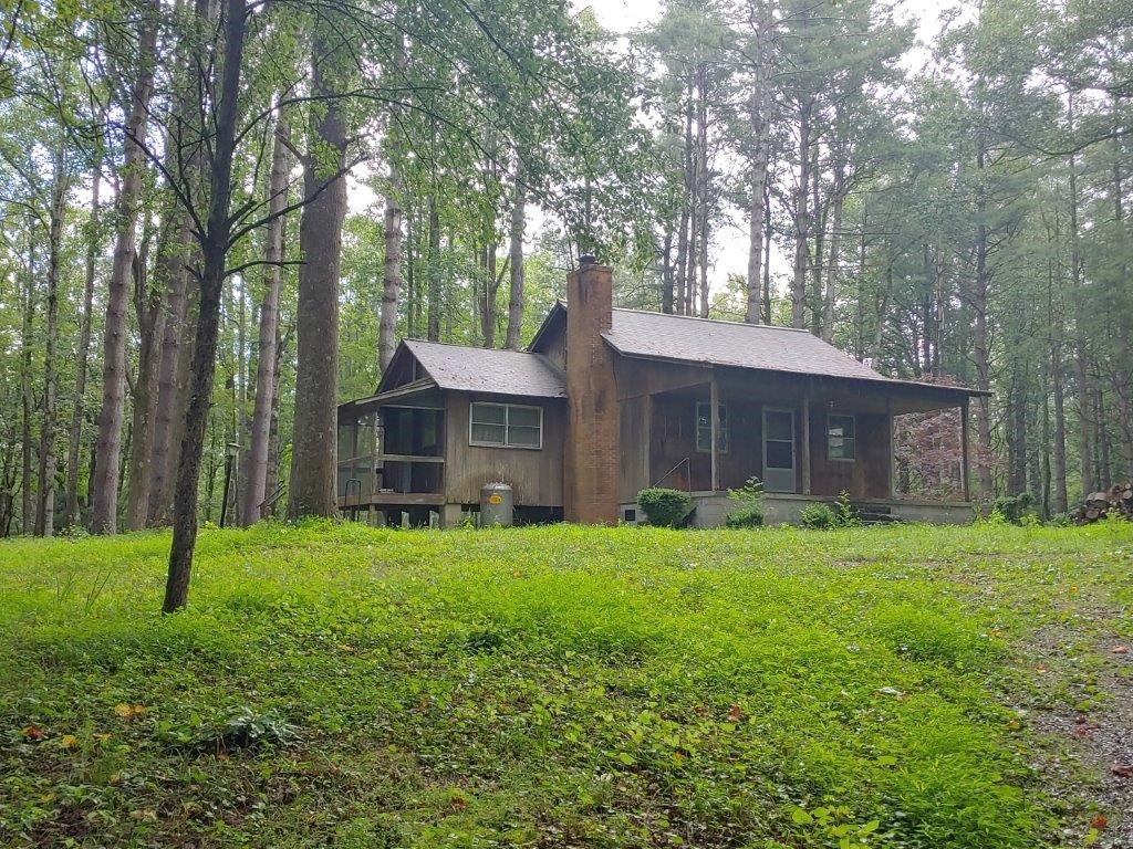 Secluded Cabin for Sale in Floyd VA!