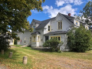NEW ENGLAND FARMHOUSE FOR SALE IN LUBEC, ME