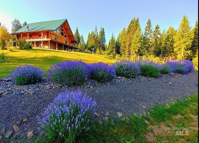 Off Grid Log Cabin for sale Grangeville, Idaho 83530