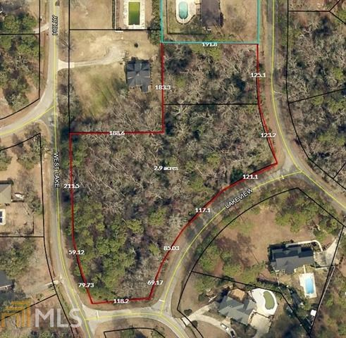 2+ Acre Lot for Sale in Sylvan Heights of Sylvania, GA