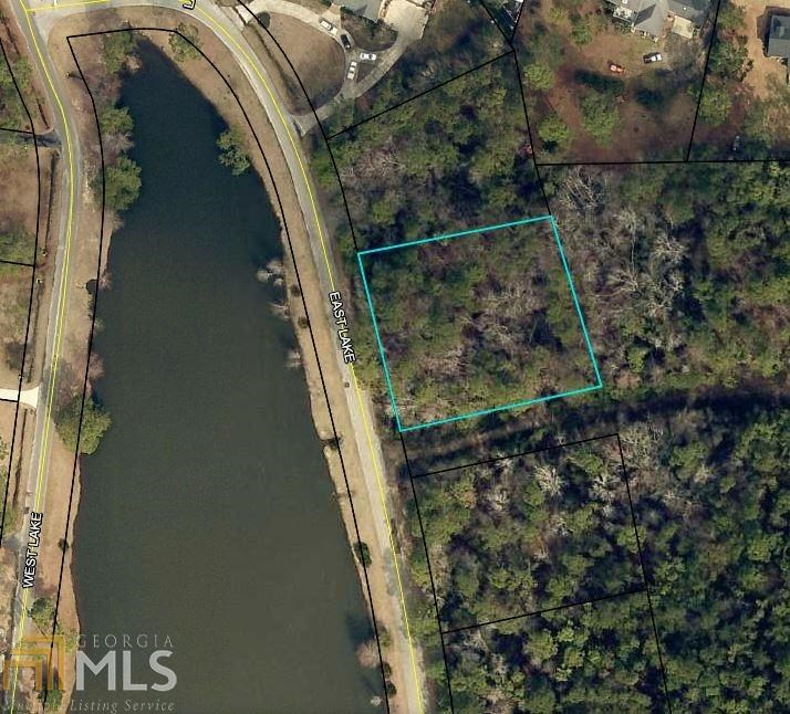 Lakefront Residential lot for Sale in Sylvania, GA