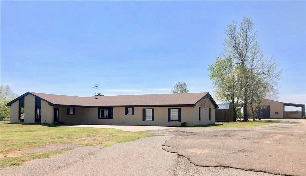 Land with a home and shop for sale