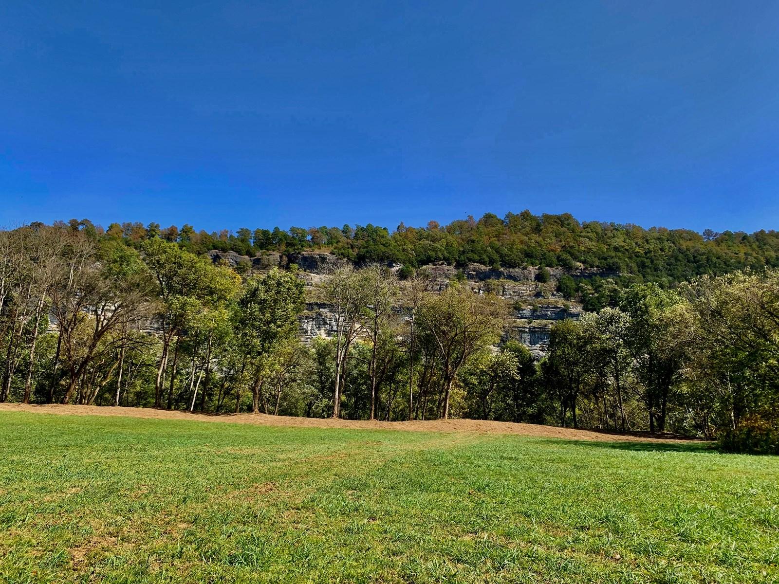 White River frontage near Mountain View