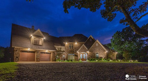 Custom home for sale in Arkansas
