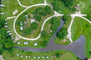 RV PARK AND CAMPGROUND WITH MARINA FOR SALE IN THORNTON, TX