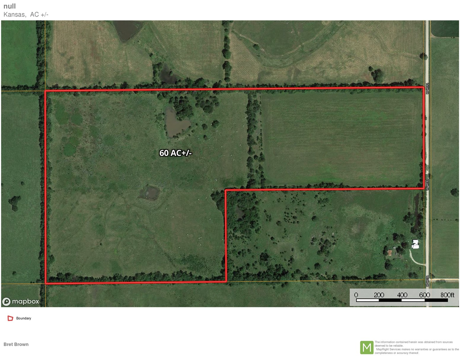 Land for Sale Fort Scott Kansas Bourbon County