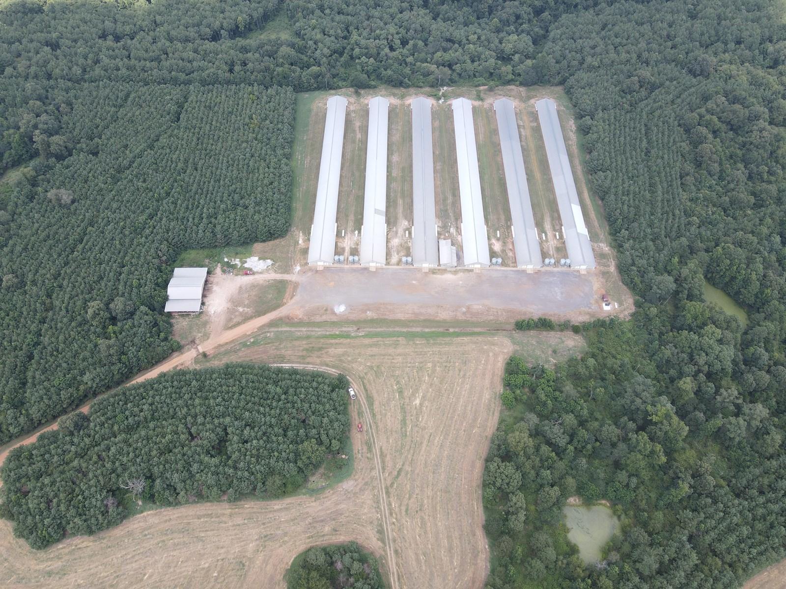 East Texas Poultry Farm for Sale