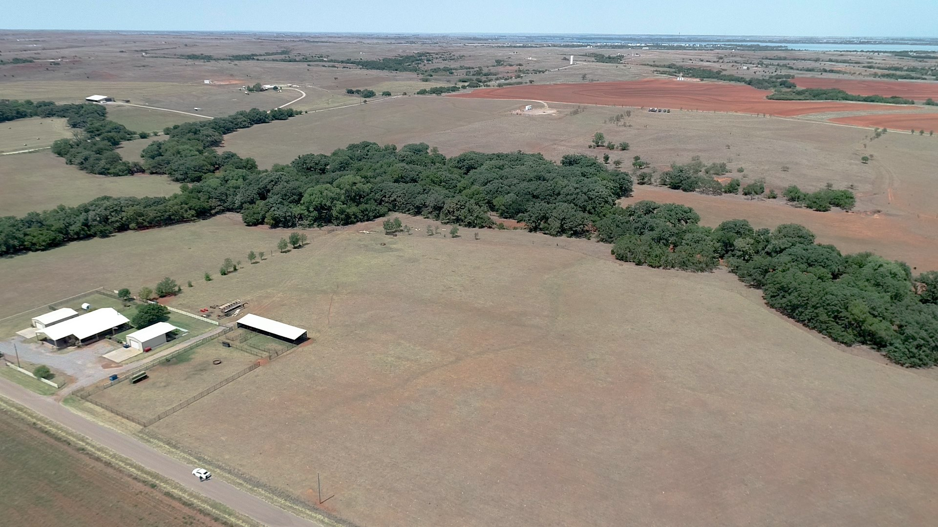 80-Acre Farm, Ranch, Hunting Land, and County Home for Sale