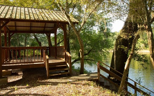 Unique opportunity to own a lot on the Suwannee River!