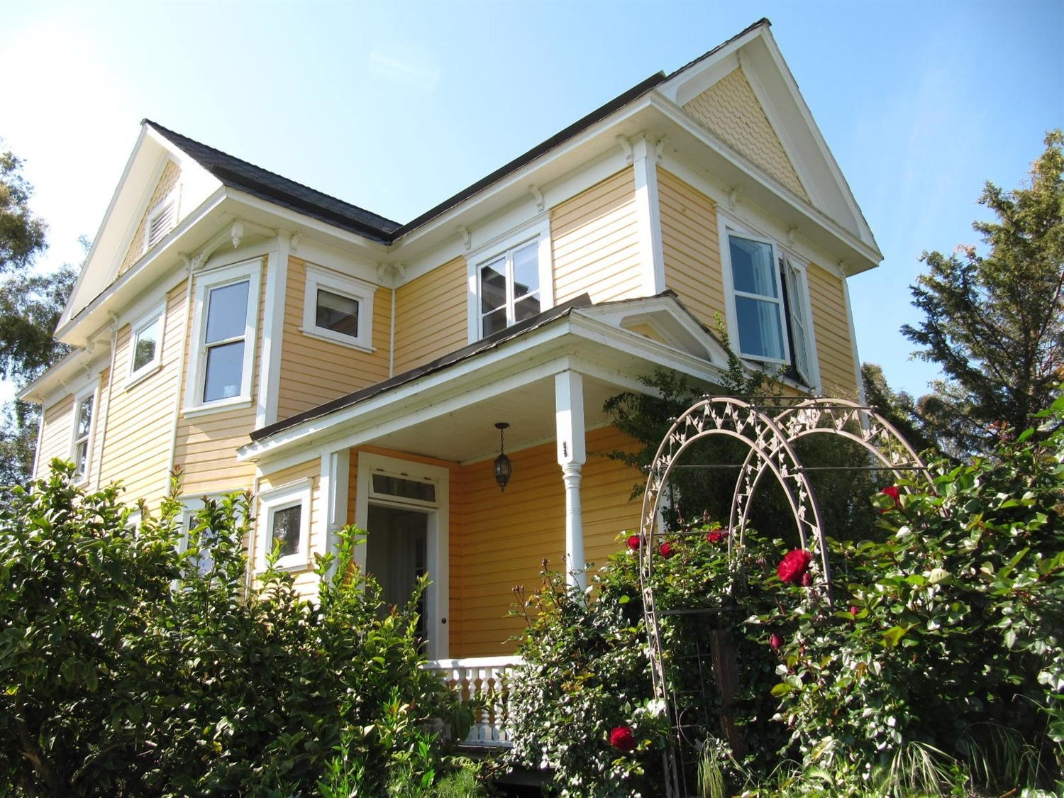 Northern California Victorian Homes For Sale
