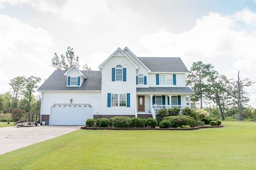 COLUMBIA, NC CANAL FRONT HOME FOR SALE-SOUND ACCESS