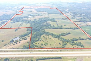 LARGE DEER HUNTING PROPERTY FOR SALE IN IOWA