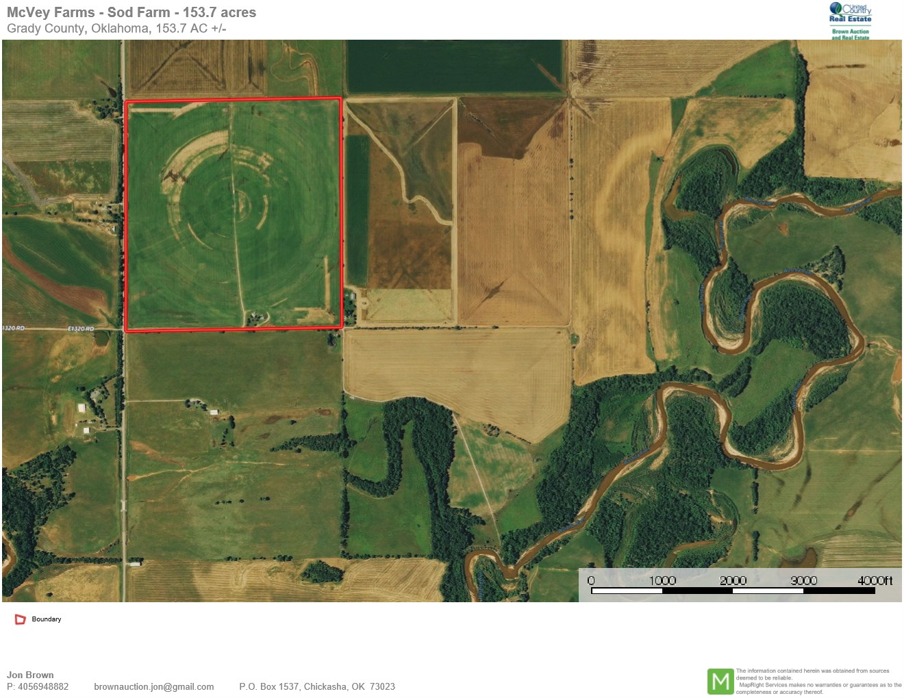 Land For Sale - Auction - Farm For Sale - Irrigated