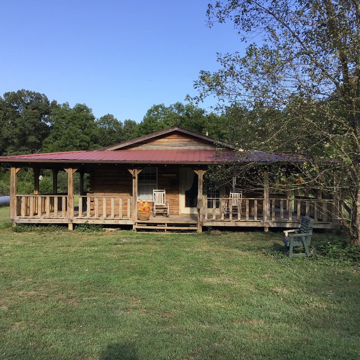 Secluded Log Cabin, 54 Wooded Acres, Bryant Creek  So. MO