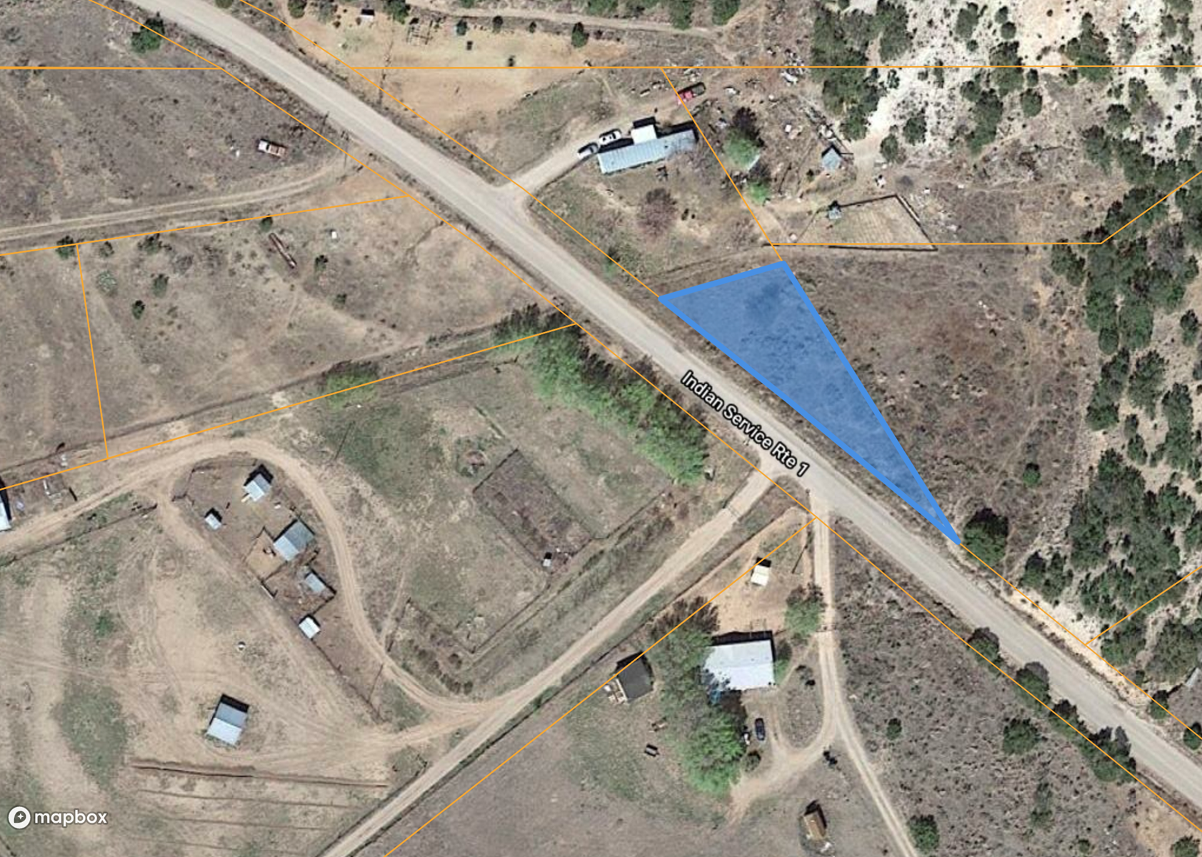 Over three acres of land in Bent, NM near Holloman AFB.