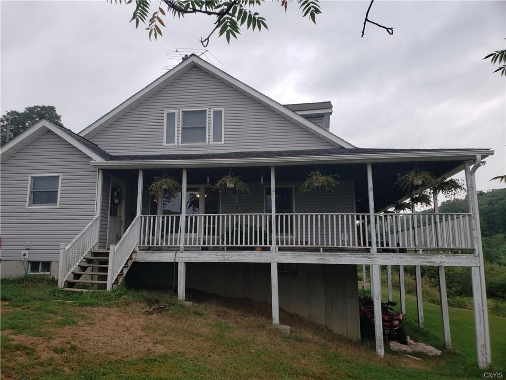 3bedromm raised ranch home locate in Cortland Co. NY .190 AC