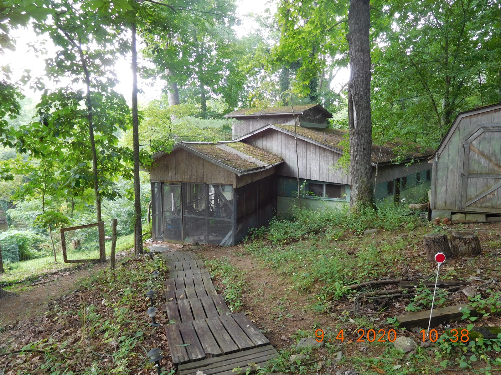 Big Old Rambling Shack in the Woods