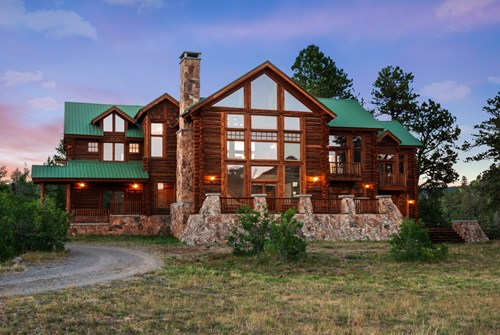 Mountain retreat on 35 acres outside of Telluride, CO
