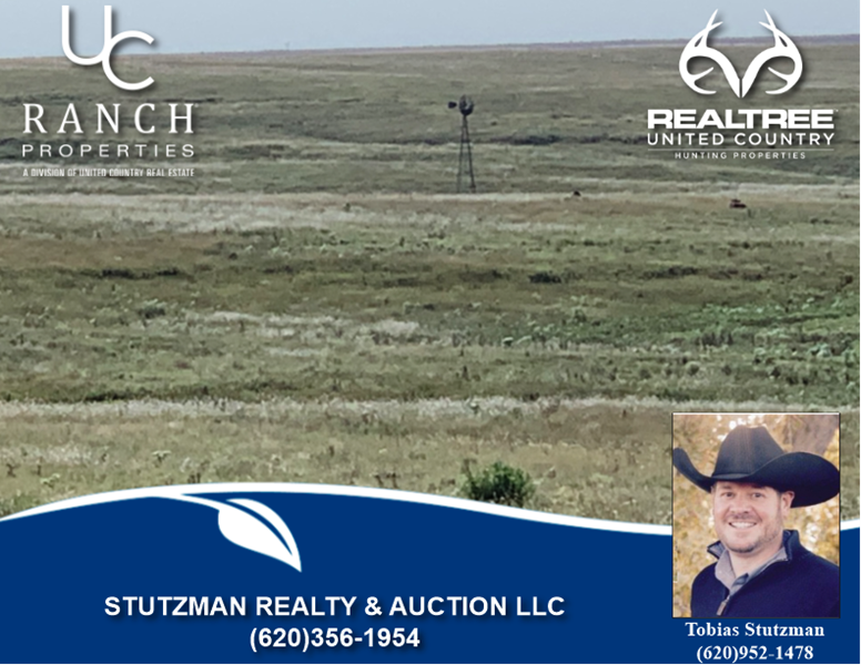 toby stutzman ranch sales ks ok co