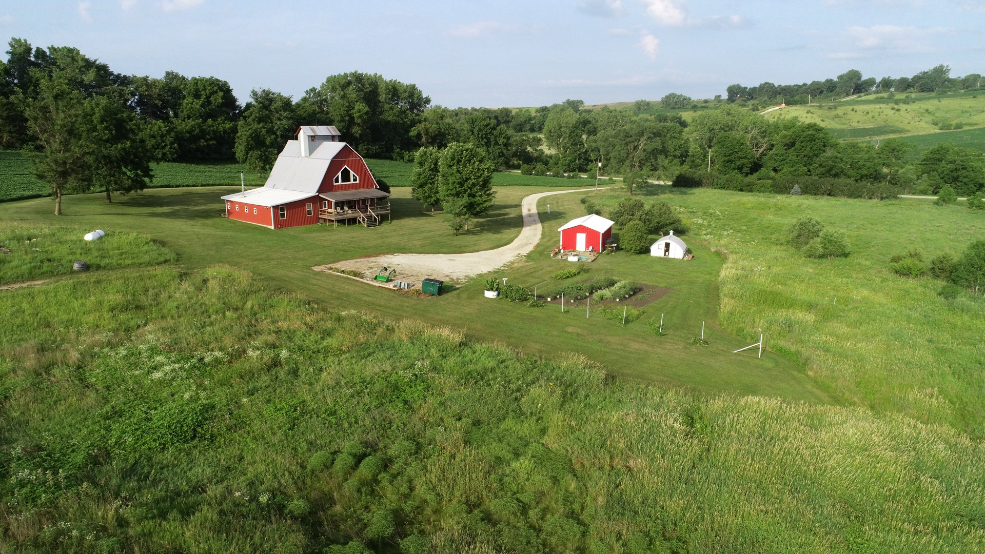 Audubon County Iowa Rustic Acreage