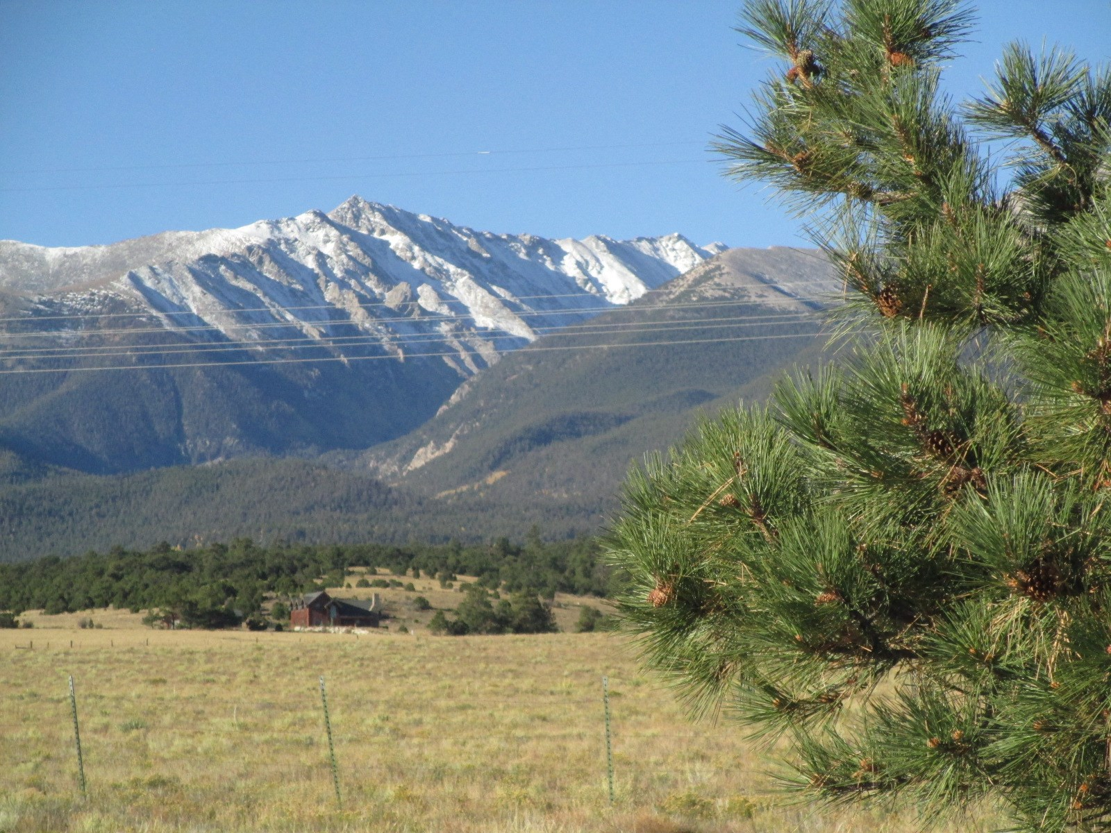 Mt Princeton Chalk Cliffs views land for sale in Colorado