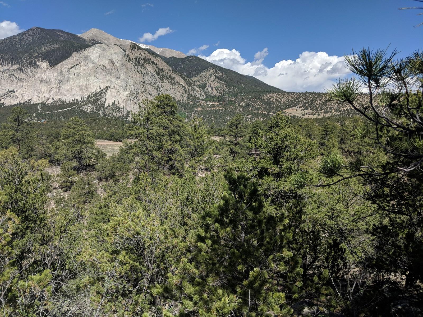 Colorado Mountain Valley Views Chalk Cliffs Mt Priceton