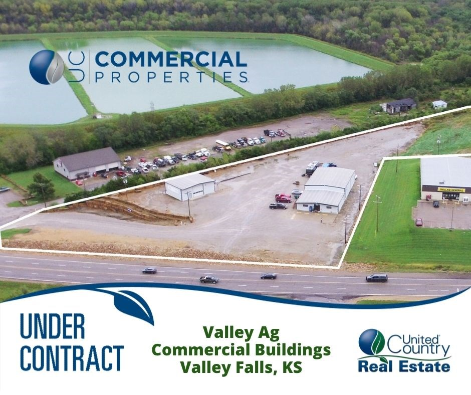 Valley Falls KS Commercial Buildings with Land For Sale
