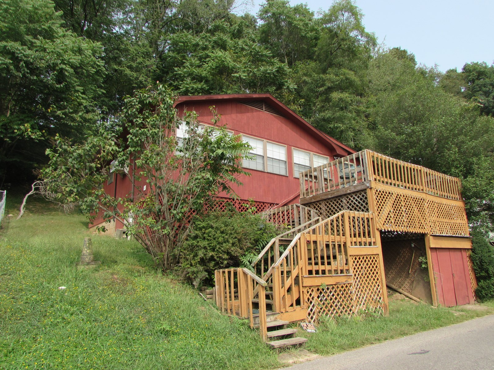 Cabin get-a-way at Crystal Lake in West Union, WV