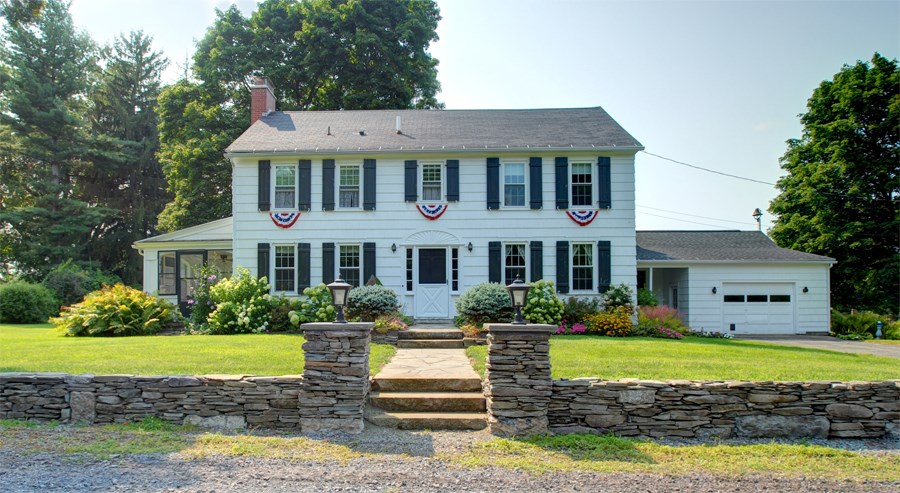 Upstate NY Country Home For Sale w/ Frontage on Cayuga Lake