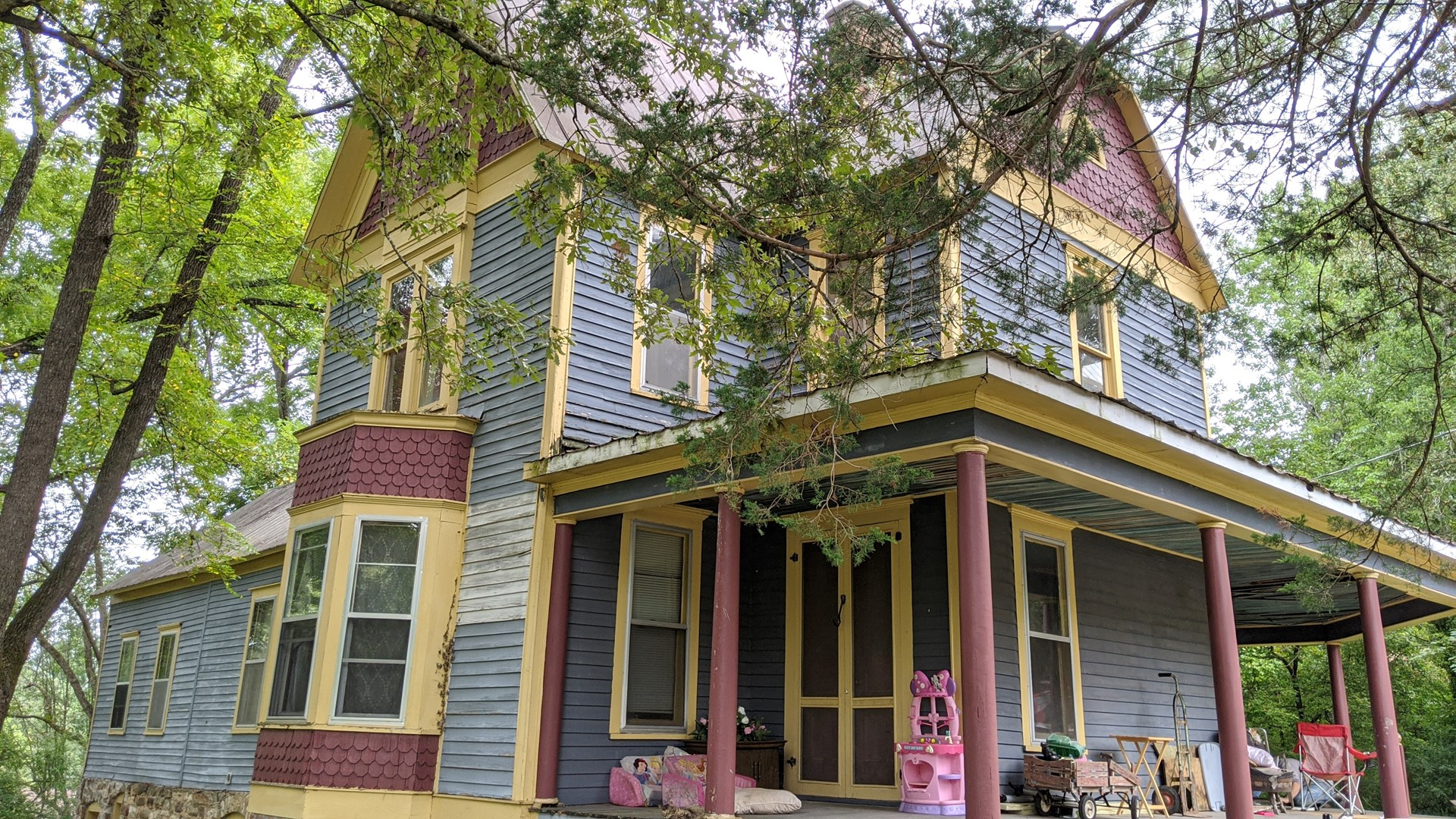 HISTORIC HOME For Sale In The Ozarks