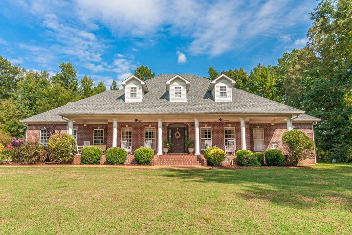 Beautiful Custom Brick on over 40 Acres; McNairy County TN