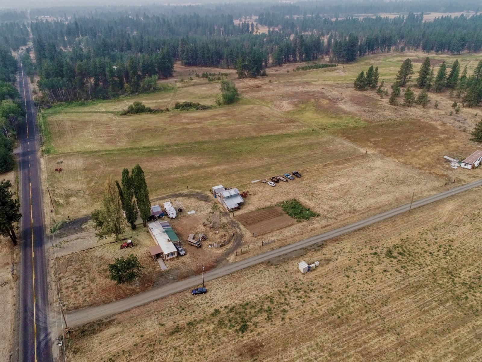 10 Acres close to Downtown Spokane, WA! Utilities in!