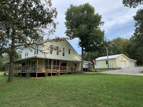 Complete Country Package - Updated Home, Acreage, Seclusion