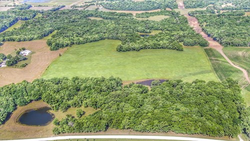 Country Home on 80 Acres with Hunting, Fishing and Farmland