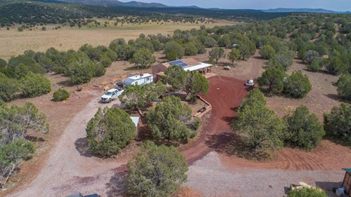 Site Built Cabin and Guest Home For Sale on 36+ Acres