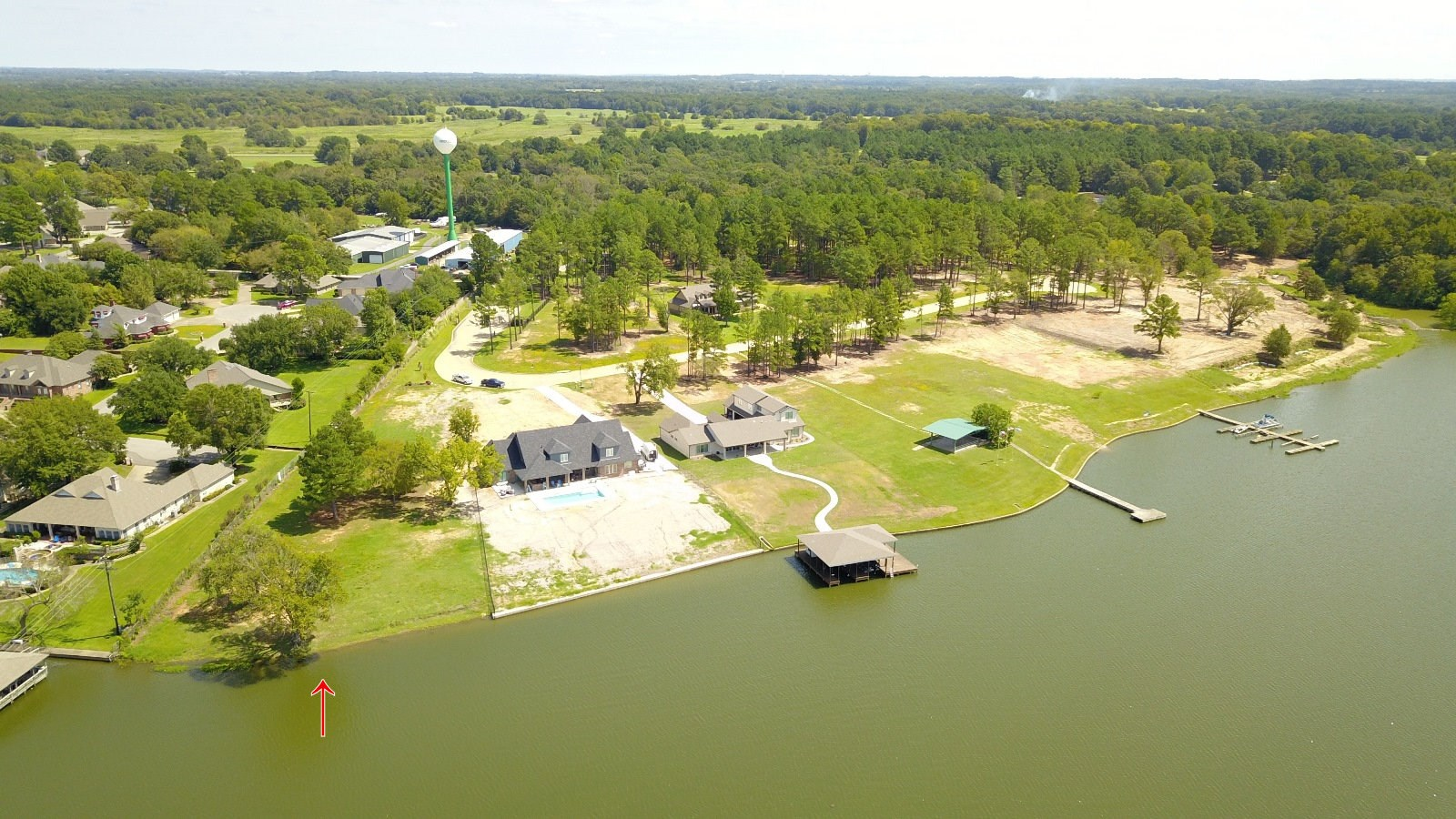 LAKE PALESTINE WATERFRONT LOT  FOR SALE IN GATED SUBDIVISION