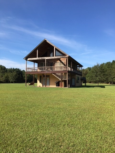 Hunting Property for Sale in Lyons, GA w/ Country Home