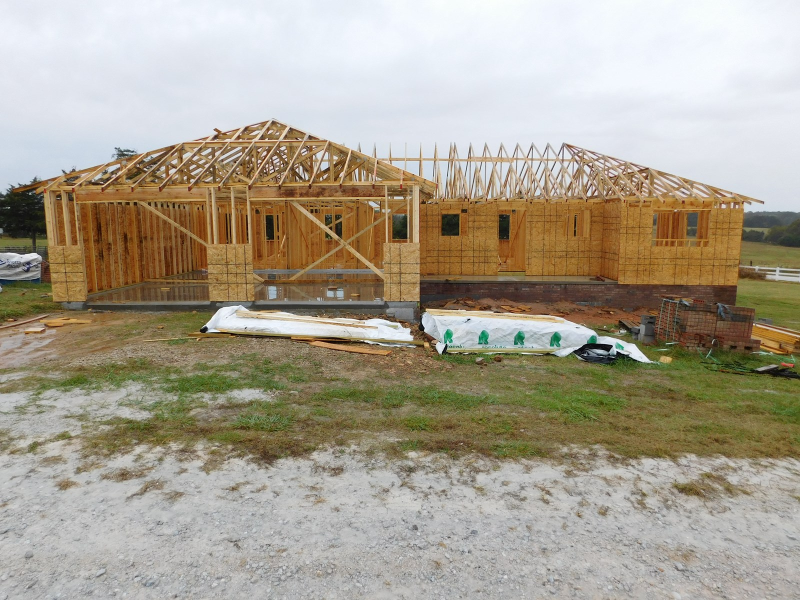 New Construction Home and .68 ac (Lot 2)