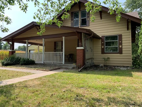 SMALL TOWN NEBRASKA HOME FOR SALE